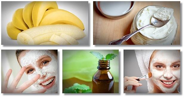 DIY Common and natural Face Masks