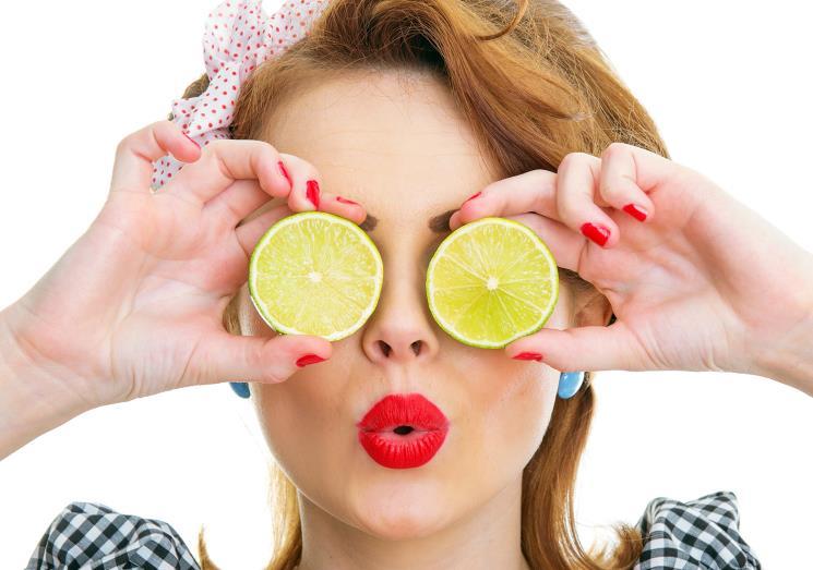 Lemon for skin