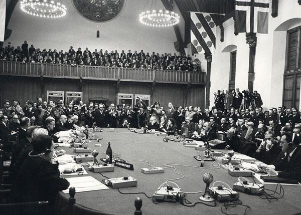 European Leaders meeting in 1964