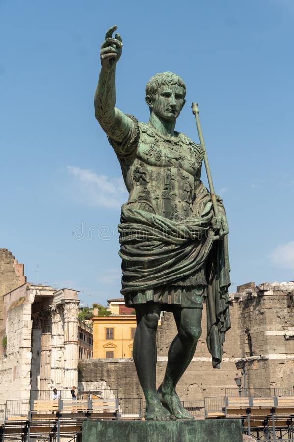 Roman Emperor Augustus Caesar
